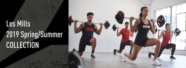 Les Mills 2019 Spring/Summer  NEW COLLECTION