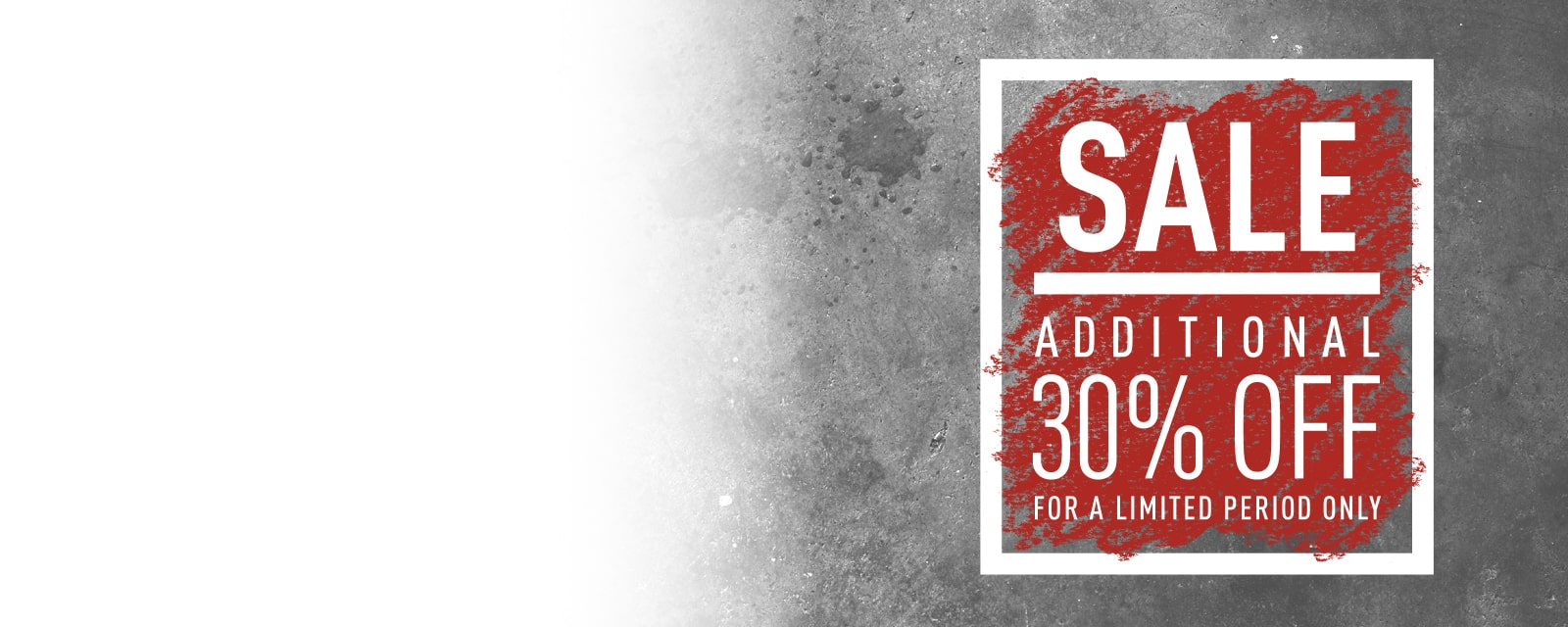 ALL SALE SHOES +30%OFF  SALEのシューズ全品さらに30%OFF 2018.12.10(mon)10:00 – 12.20(thu)23:59