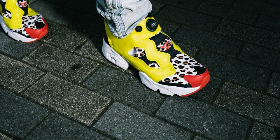 "Reebok x atmos INSTAPUMP FURY ""CITRON ANIMAL"""
