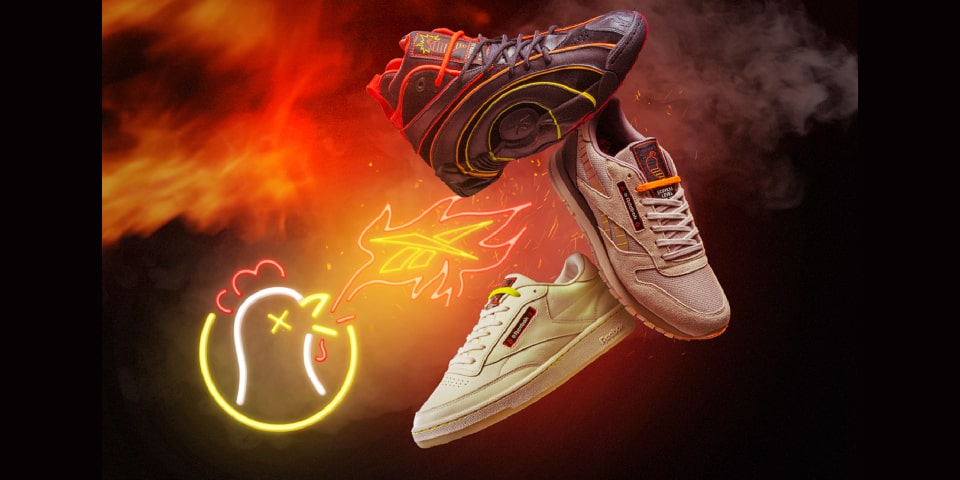 Reebok x HOT ONES