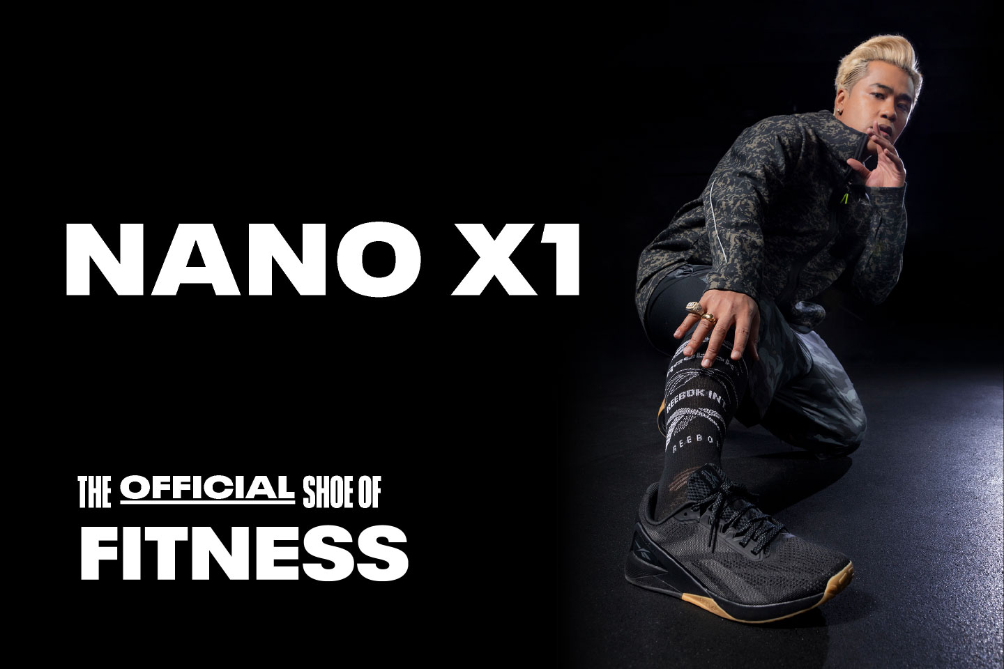 NANO X1 THE OFFICIAL SHOE OF  FITNESS