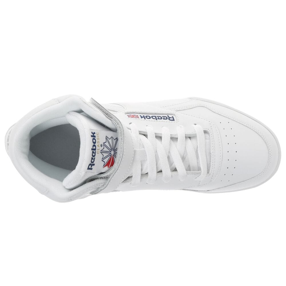 4ccbff79f Girls' Shoes Reebok Classic EXOFIT Ex-O-Fit Hi Trainers in White 3477