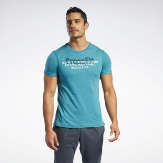 リーボック CrossFit USA ムーブ Tシャツ / Reebok CrossFit USA Move Tee